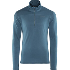 Craft Pin Half Zip Midlayer Herre fjord/gravel